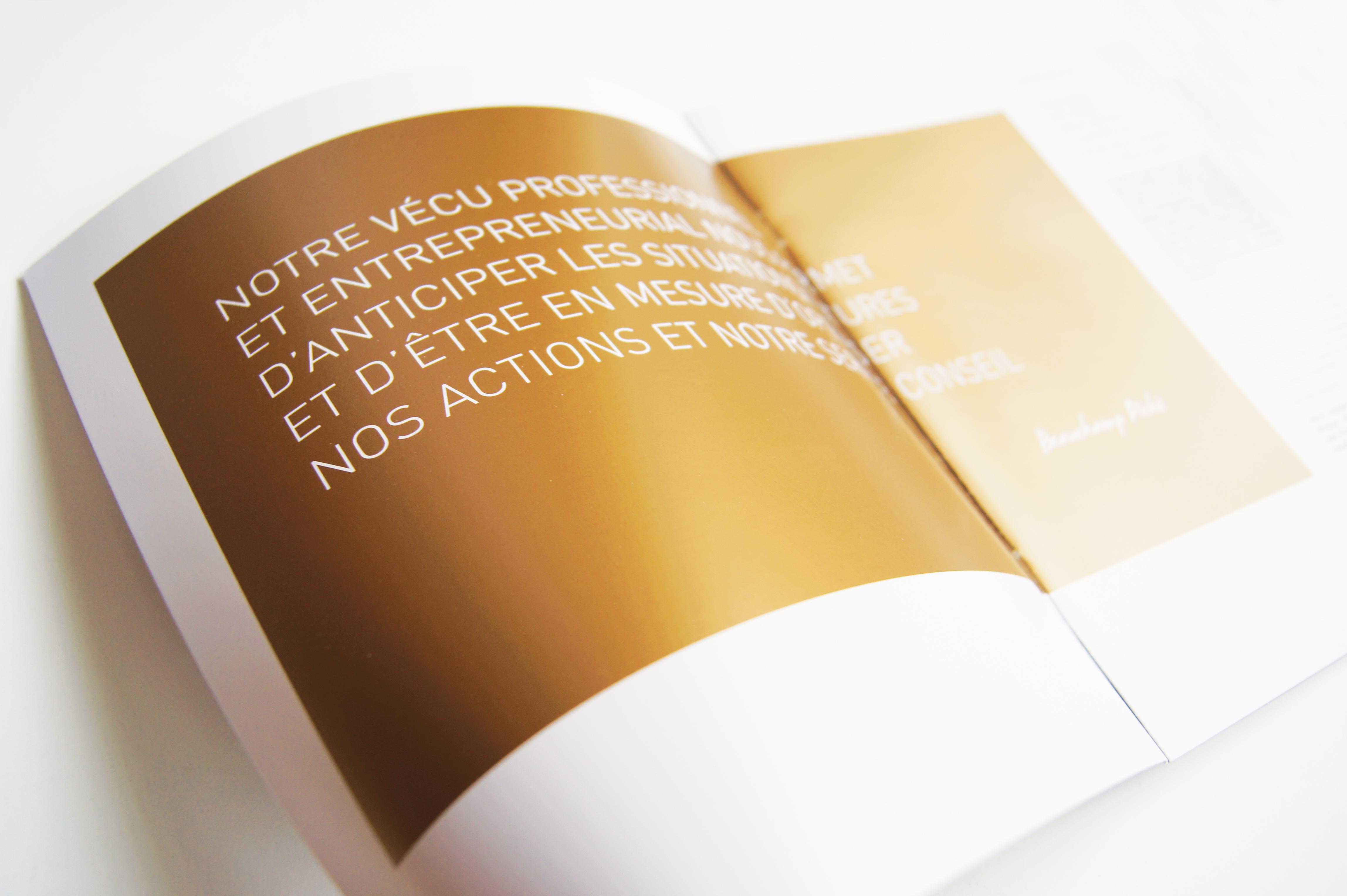Brochure coporative
